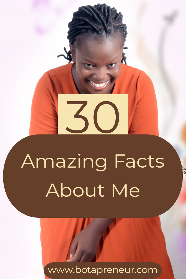 30 Amazing Facts About Me
